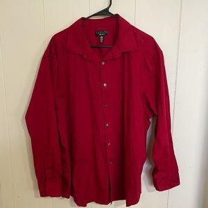 BIG MEN'S Alfani Dress Shirt XXL